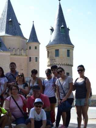 "El coro ""La Azucena de San José"" realizó un viaje cultural a Segovia 10"