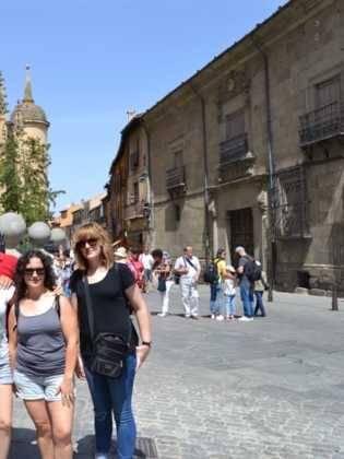 """19Viaje a Segovia de la hermandad de san Jose de Herencia 315x420 - El coro """"La Azucena de San José"""" realizó un viaje cultural a Segovia"""