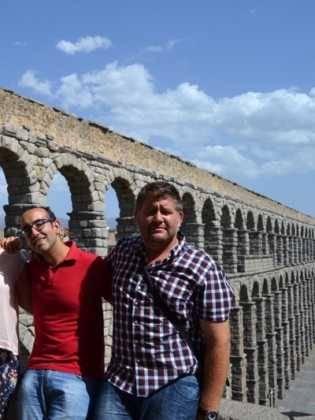"""21Viaje a Segovia de la hermandad de san Jose de Herencia 315x420 - El coro """"La Azucena de San José"""" realizó un viaje cultural a Segovia"""