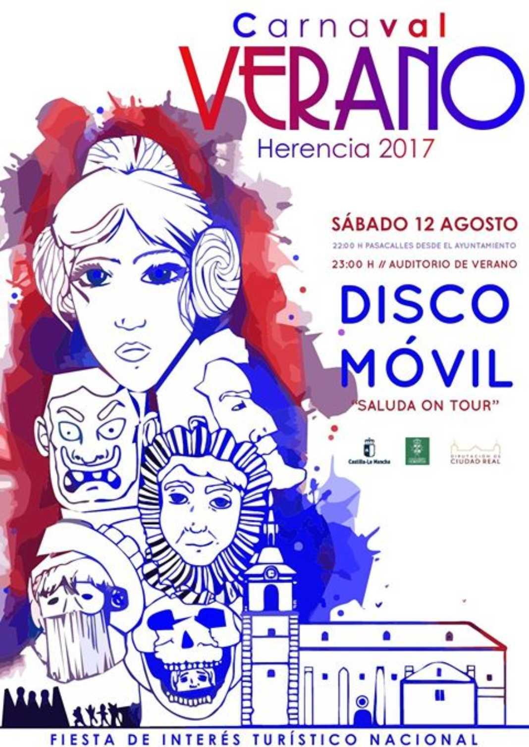 Carnaval de verano 1068x1509 - Llega el Carnaval de Verano de Herencia
