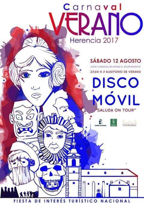 Carnaval de verano - Herencia celebrará su carnaval de verano el 12 de agosto