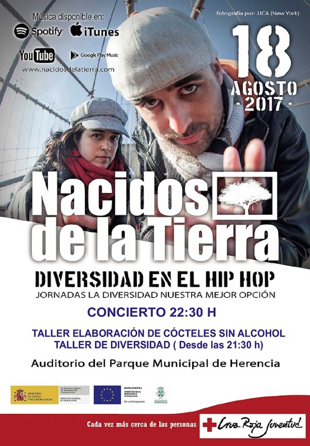 Concierto Hip Hop 1068x1534 - Concierto de Hip-Hop y talleres varios en el Auditorio de Verano