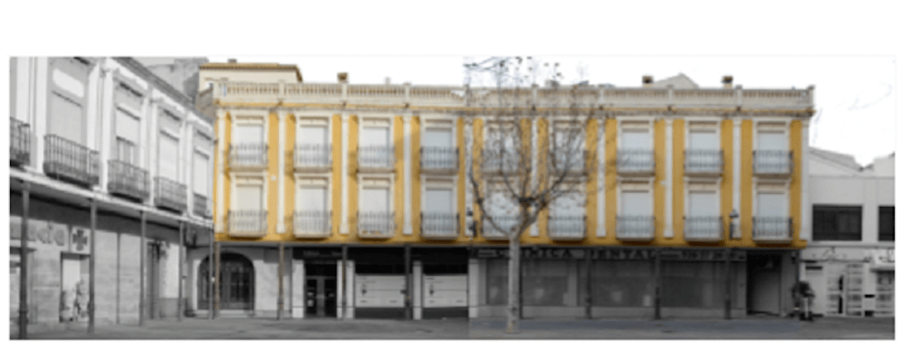Comienzan las obras de embellecimiento de la Plaza de España en Herencia 8