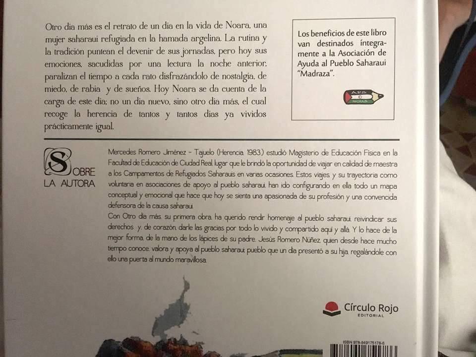 """Otro d%C3%ADa mas Mercedes Romero Jimez Tajuelo y Jesus Romero Nu%C3%B1ez3 - """"Otro día más"""", un libro de Mercedes y Jesús Romero"""