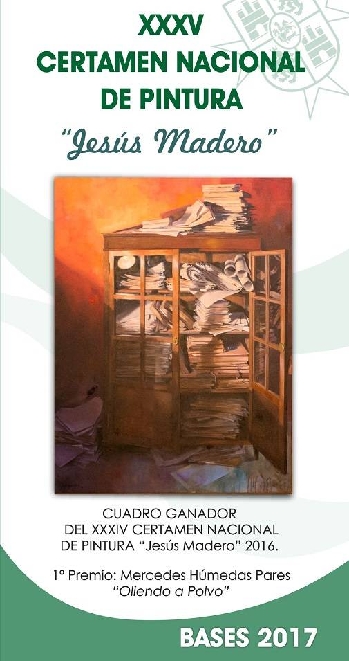 "Portada Certamen de Pintura Jesús Madero - Convocado el XXXV Certamen Nacional de Pintura ""Jesús Madero"""