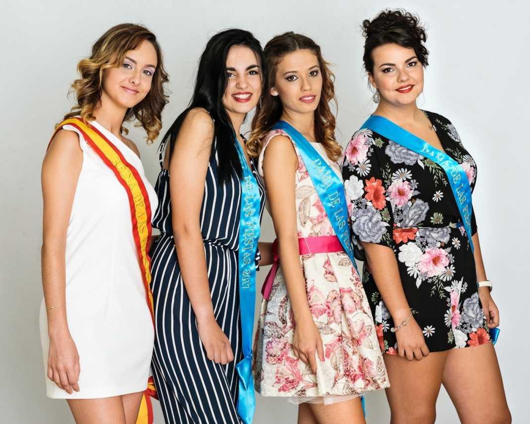 Reina y Damas de Feria y Fiestas 2017 Herencia 1 1 1068x854 - Elegidas las Reina y Damas para las fiestas de la Merced 2017
