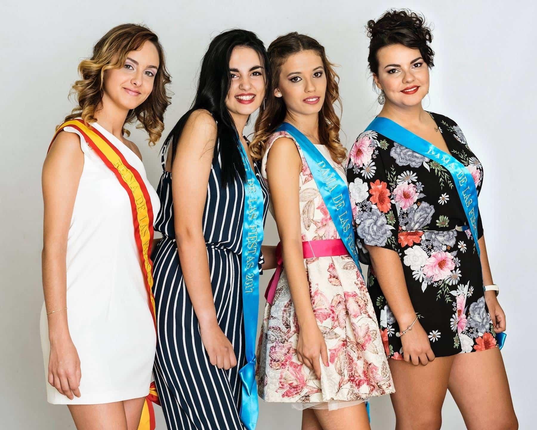 Reina y Damas de Feria y Fiestas 2017 Herencia 1 1 - Elegidas las Reina y Damas para las fiestas de la Merced 2017