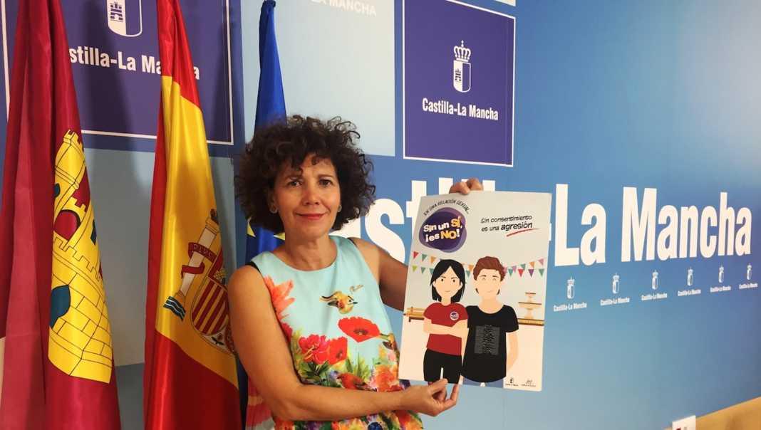 Sin un si es no 1068x604 - Reedición de la campaña entre los jóvenes de Ciudad Real para prevenir las relaciones sexuales no consentidas