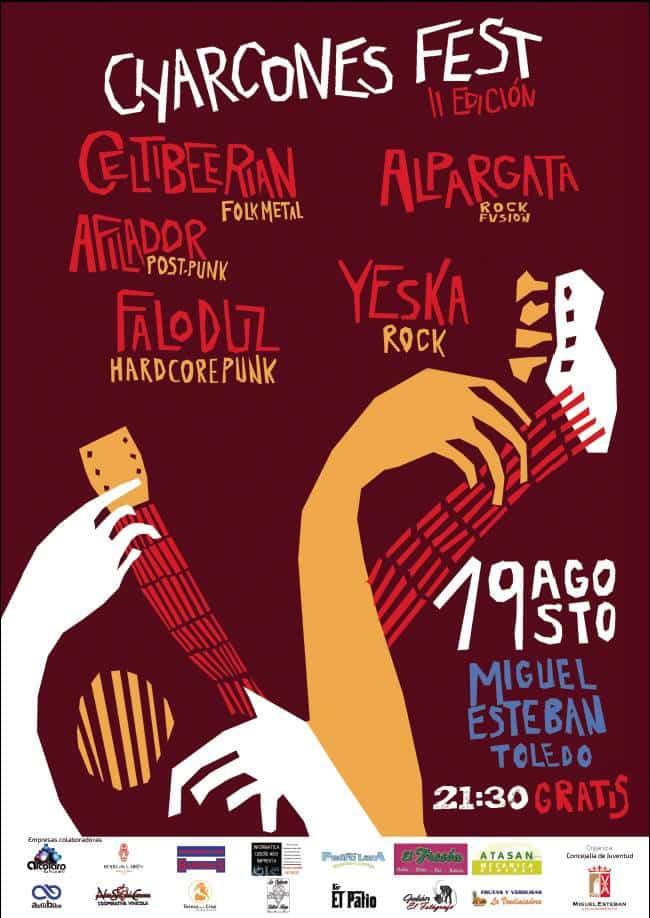 cartelcharcones - Yeska abrió el festival Charcones Fest