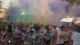 "colours run 2017 en herencia 1 270x152 - Cientos de personas participaron en la ""Colours Run"" solidaria de Herencia"