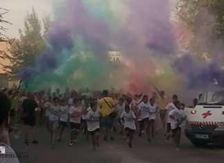 Colours Run 2017, carrera solidaria en Herencia.