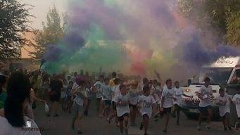 Colours Run 2017, carrera solidaria en Herencia.