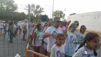 "colours run 2017 herencia fotos de Aitor gallego de la sacristana 2 342x192 - Cientos de personas participaron en la ""Colours Run"" solidaria de Herencia"