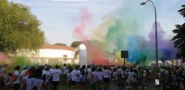 Colours Run 2017, carrera solidaria en Herencia. Fotos de Aitor Gallego de la Sacristana