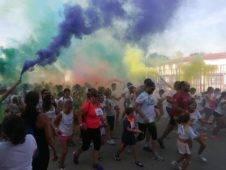 """colours run herencia 2017 fotos ayuntamiento 6 226x170 - Cientos de personas participaron en la """"Colours Run"""" solidaria de Herencia"""