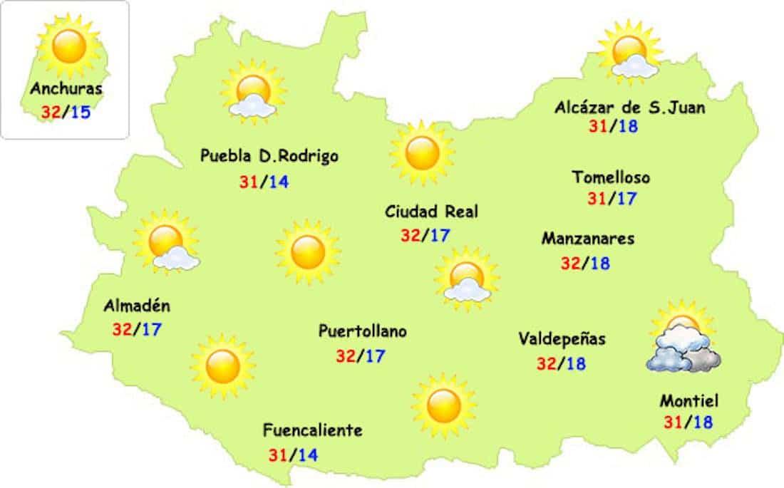 menos calor 06 08 17 2 - El calor nos da unos días de tregua en Herencia