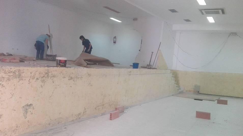 obras oficinas casa cultura herencia 1 - Construcción de nuevas oficinas municipales en la Casa de Cultura de Herencia
