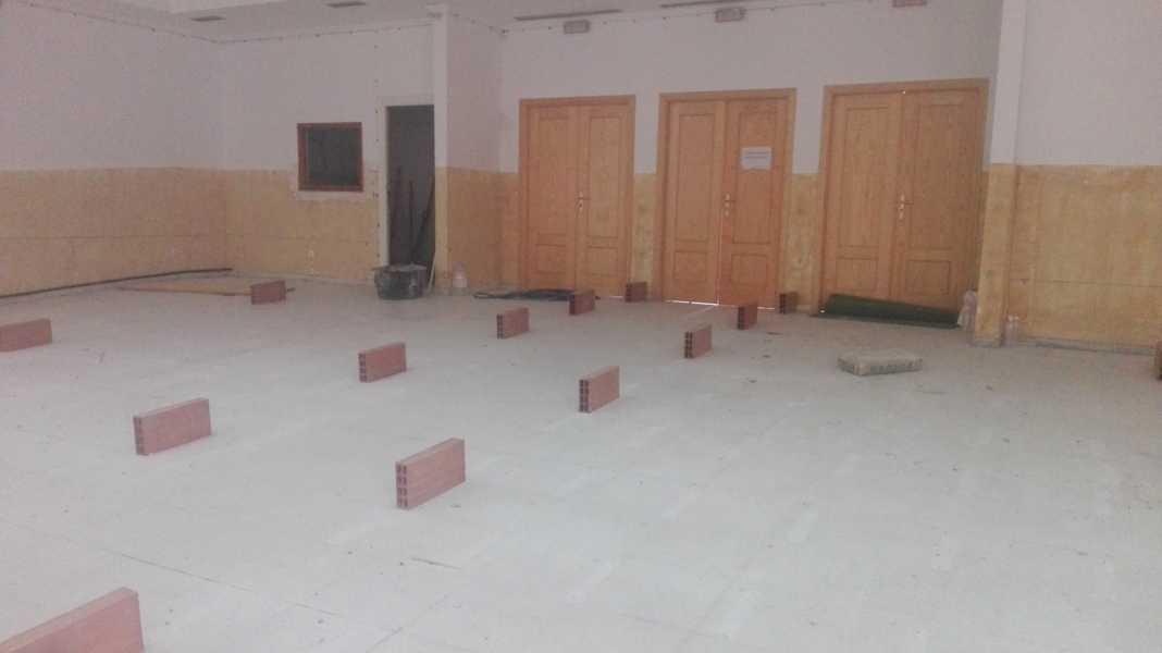 obras oficinas casa cultura herencia 2 1068x600 - Construcción de nuevas oficinas municipales en la Casa de Cultura de Herencia