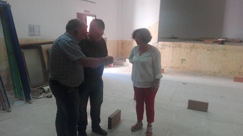 obras oficinas casa cultura herencia 3 - Construcción de nuevas oficinas municipales en la Casa de Cultura de Herencia
