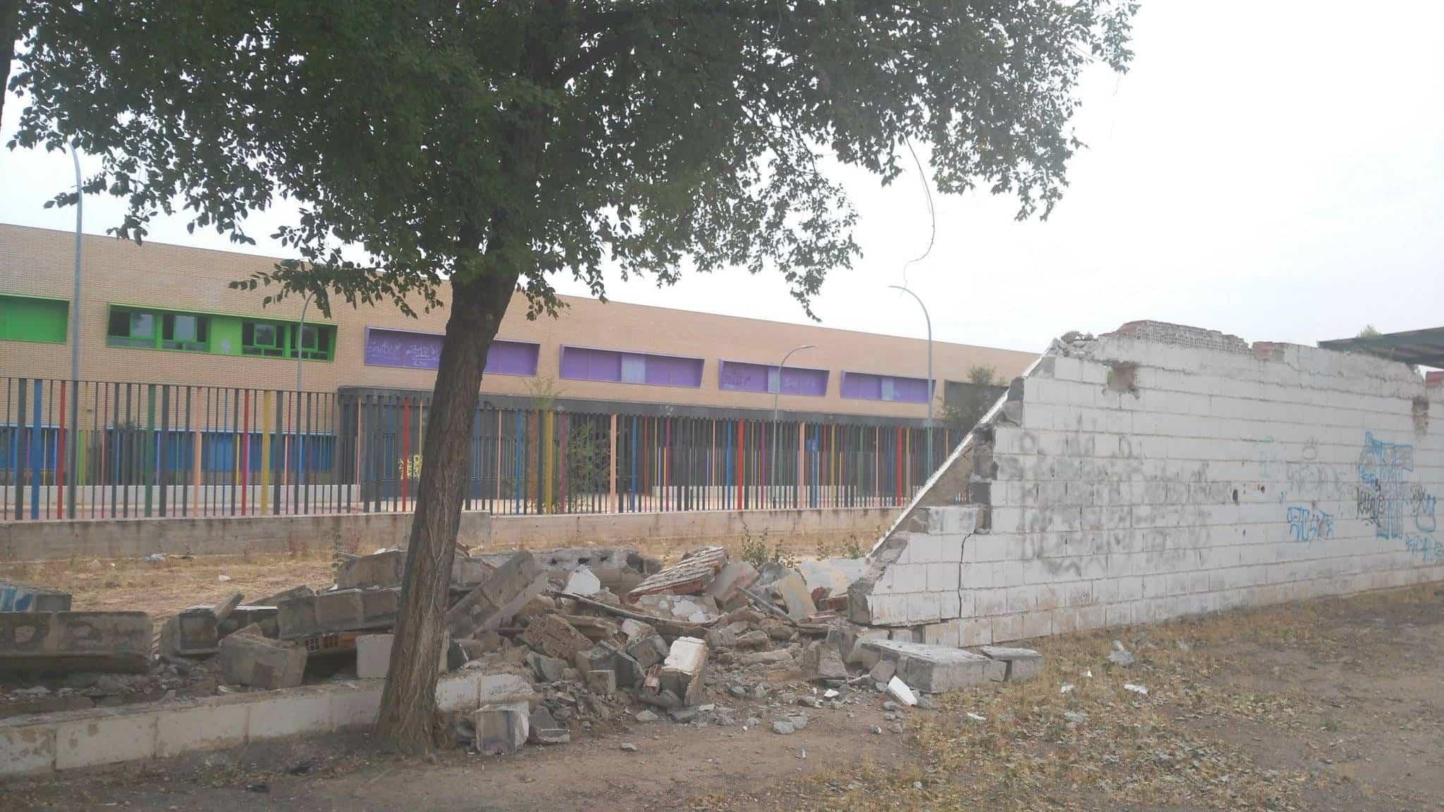 obras para edificio smd herencia 1 - Comienzan las obras para ampliar aulas y oficinas del SMD