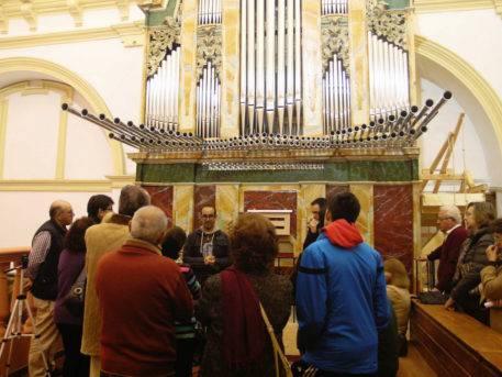 organo historico barroco de Herencia
