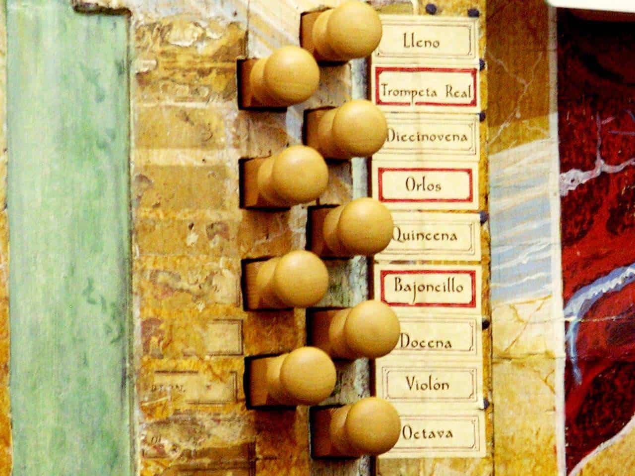 organo historico barroco de la parroquia de herencia - Herencia se suma a la IV Ruta de Órganos Históricos de Castilla-La Mancha