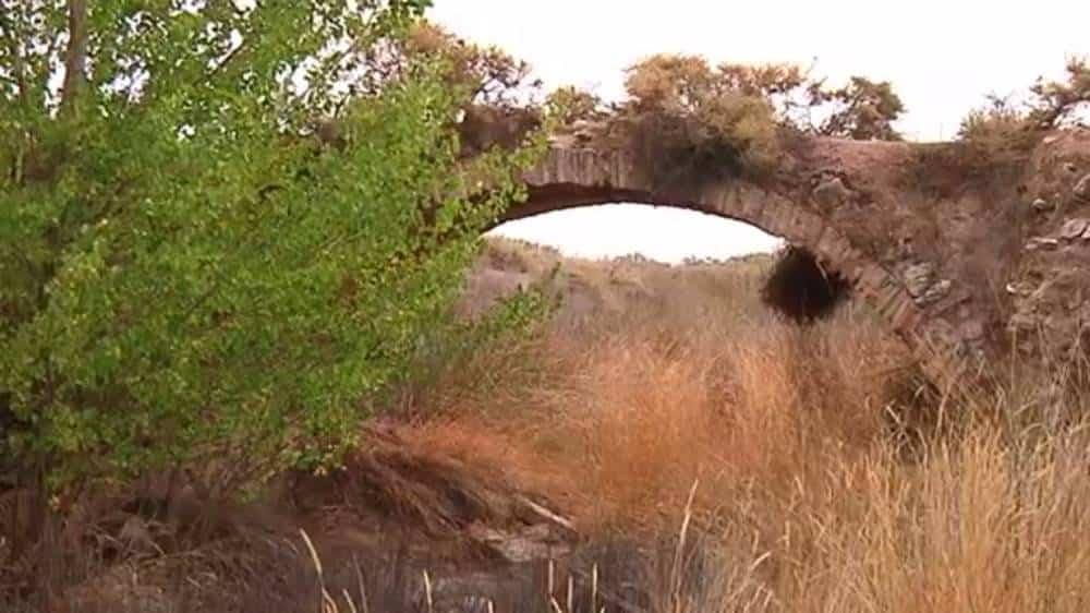 puente rondadias - Herencia y Alcázar un poco más cerca con la reconstrucción del puente de Rondadías