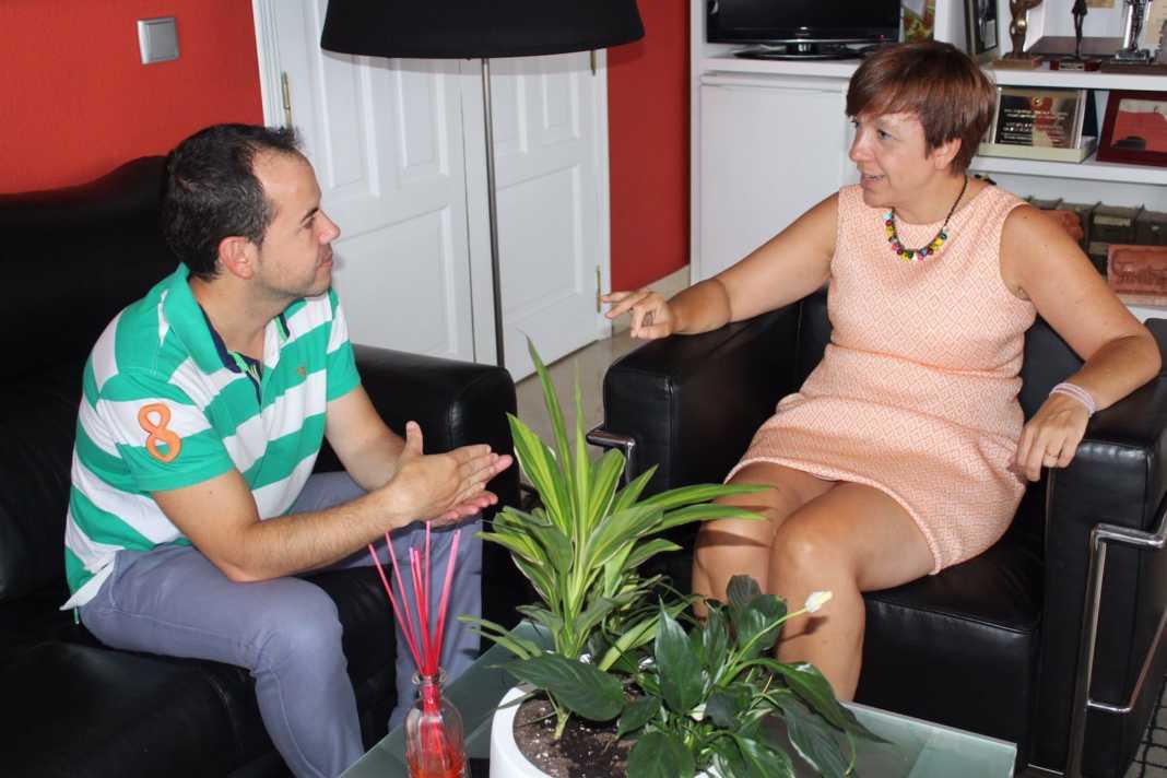 reunion alcalde herencia alcazar de san juan 1 1068x712 - Reunión entre alcaldes de Herencia y Alcázar de San Juan