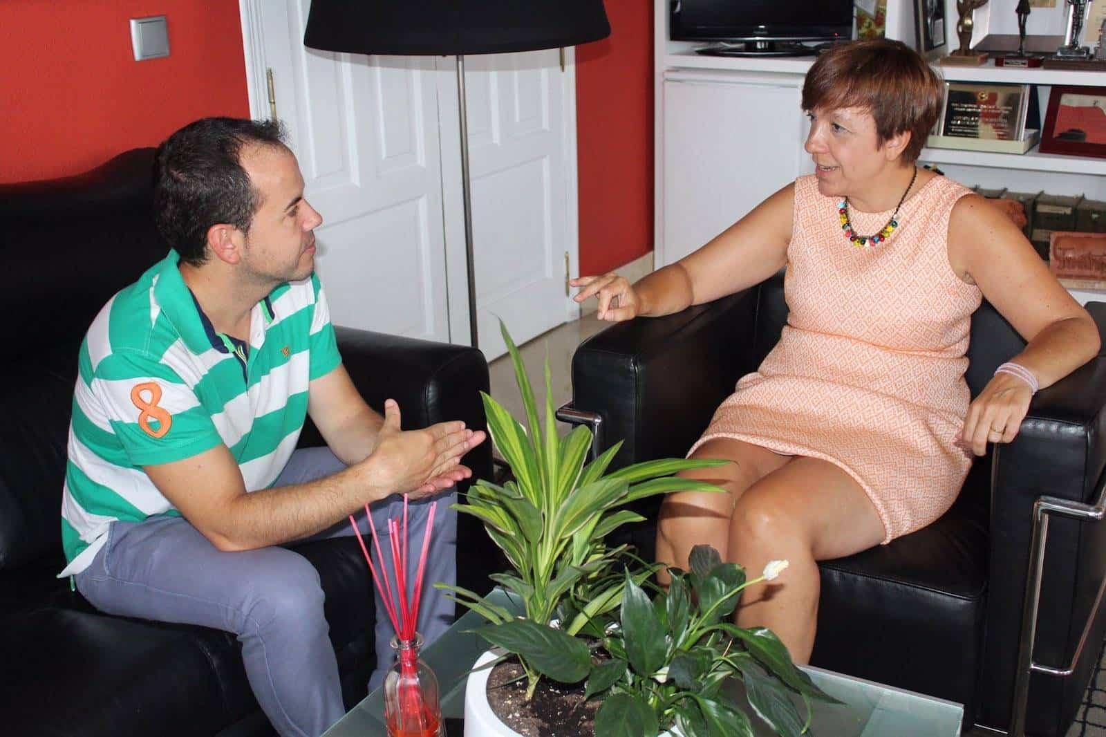 reunion alcalde herencia alcazar de san juan 1 - Reunión entre alcaldes de Herencia y Alcázar de San Juan
