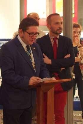 Rafael Garrigós realiza el logo conmemorativo del 75 aniversario del Cristo Yacente de Manzanares 7