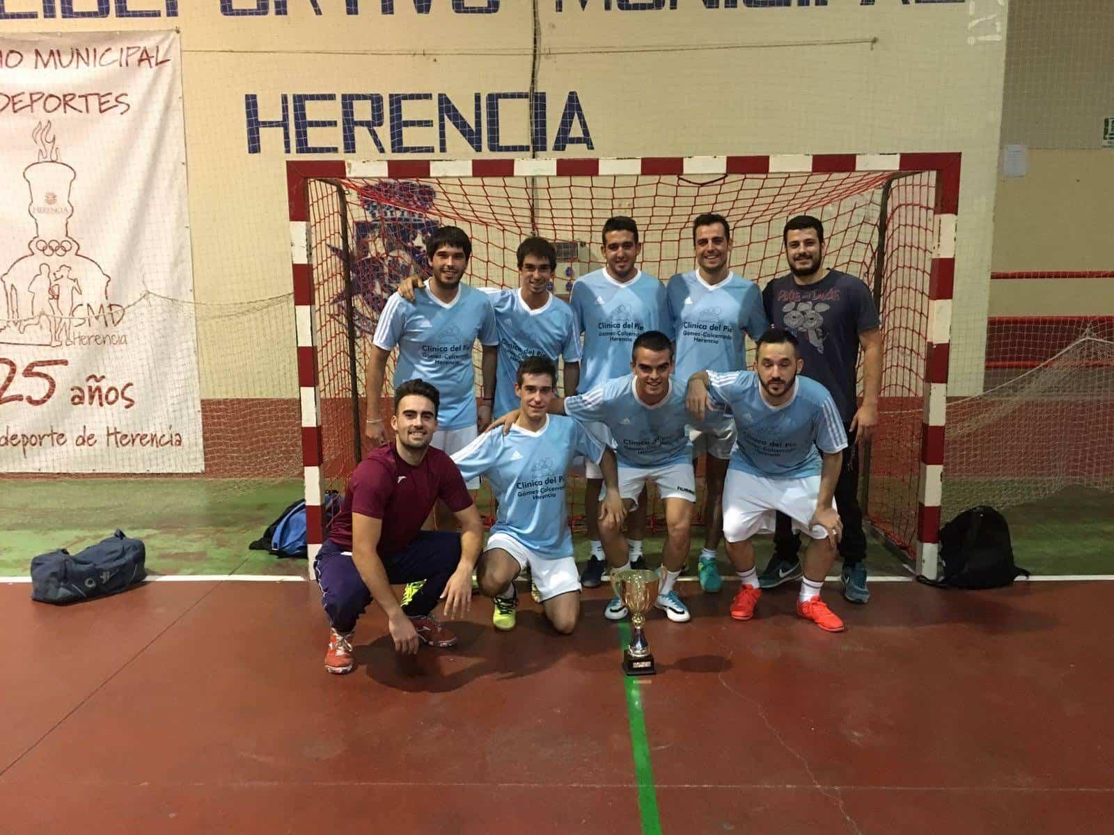 Besolla FS Herencia - Besolla F. S. campeón de la liga de fútbol sala de verano
