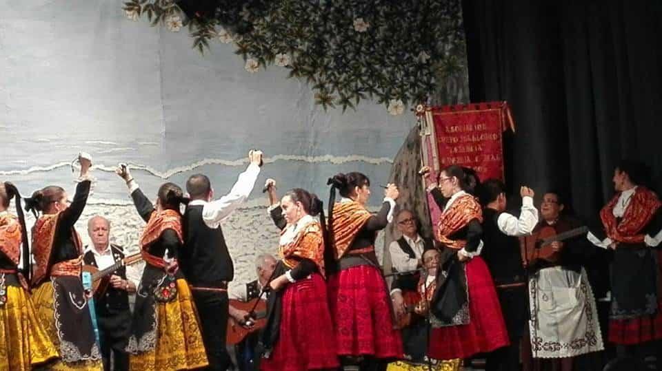 El Grupo Folclorico de Herencia en la XIX Muestra Internacional Raices y Horizonte 06 - El grupo folclórico de Herencia participa en varios festivales