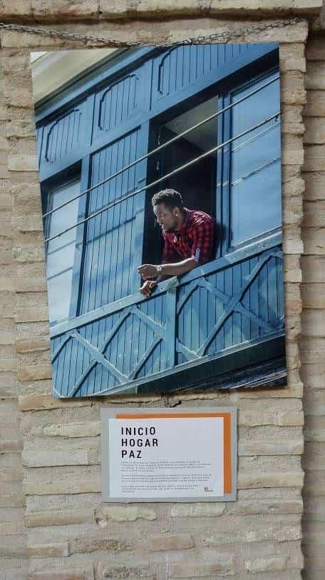 """Exposición """"Valientes"""" de la Fundación La Merced Migraciones en Herencia"""