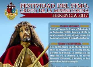 Festividad del Santísimo Cristo de la Misericordia 2017