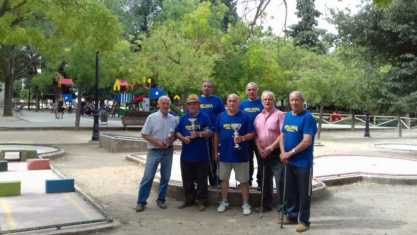II Torneo de Minigolf MAESA y DXT Herencia feria 2017