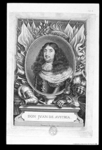JUAN JOSE DE AUSTRIA. BIBLIOTECA NACIONAL 2 325x477 - El retrato de Don Juan José de Austria en el Convento de la Merced de Herencia