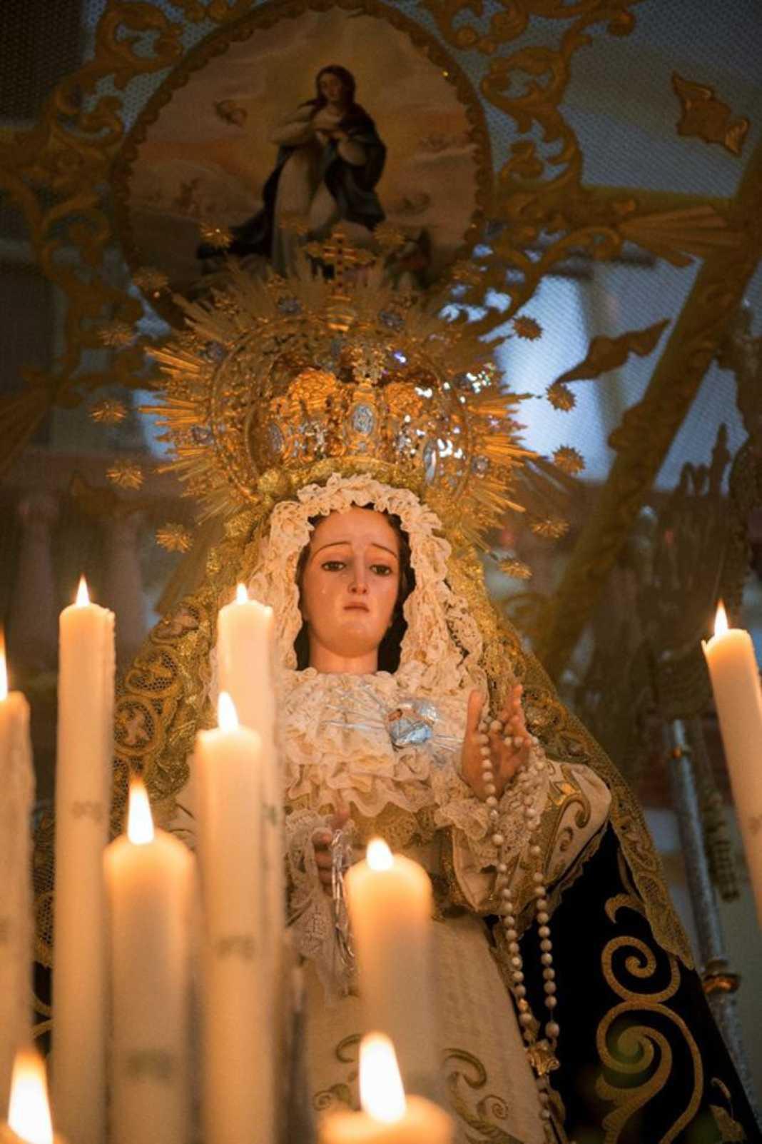 Virgen de los Dolores 1068x1602 - La Semana Santa llega este viernes con novedosos cambios