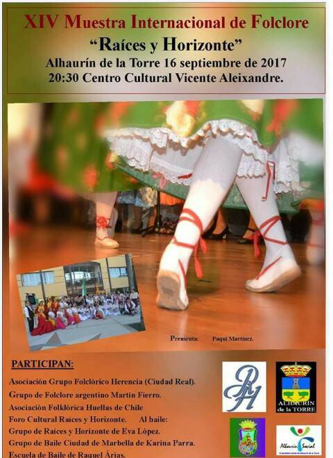 XIV Muestra Internacional de Folclore 22Raíces y Horizonte22 - El grupo folclórico de Herencia participa en varios festivales