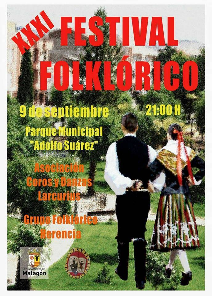 XXXI Festival Folkl%C3%B3rico de Malag%C3%B3n - El grupo folclórico de Herencia participa en varios festivales