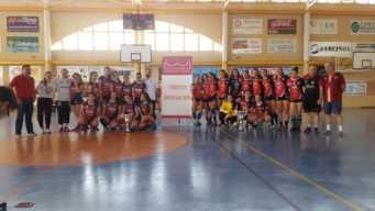 balonmano juvenil femenizo de pozuelo02 341x192 - Mercedes Ramírez y Elena Olivares campeonas provinciales de balonmano
