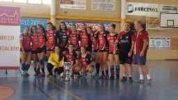 balonmano juvenil femenizo de pozuelo06 256x144 - Mercedes Ramírez y Elena Olivares campeonas provinciales de balonmano