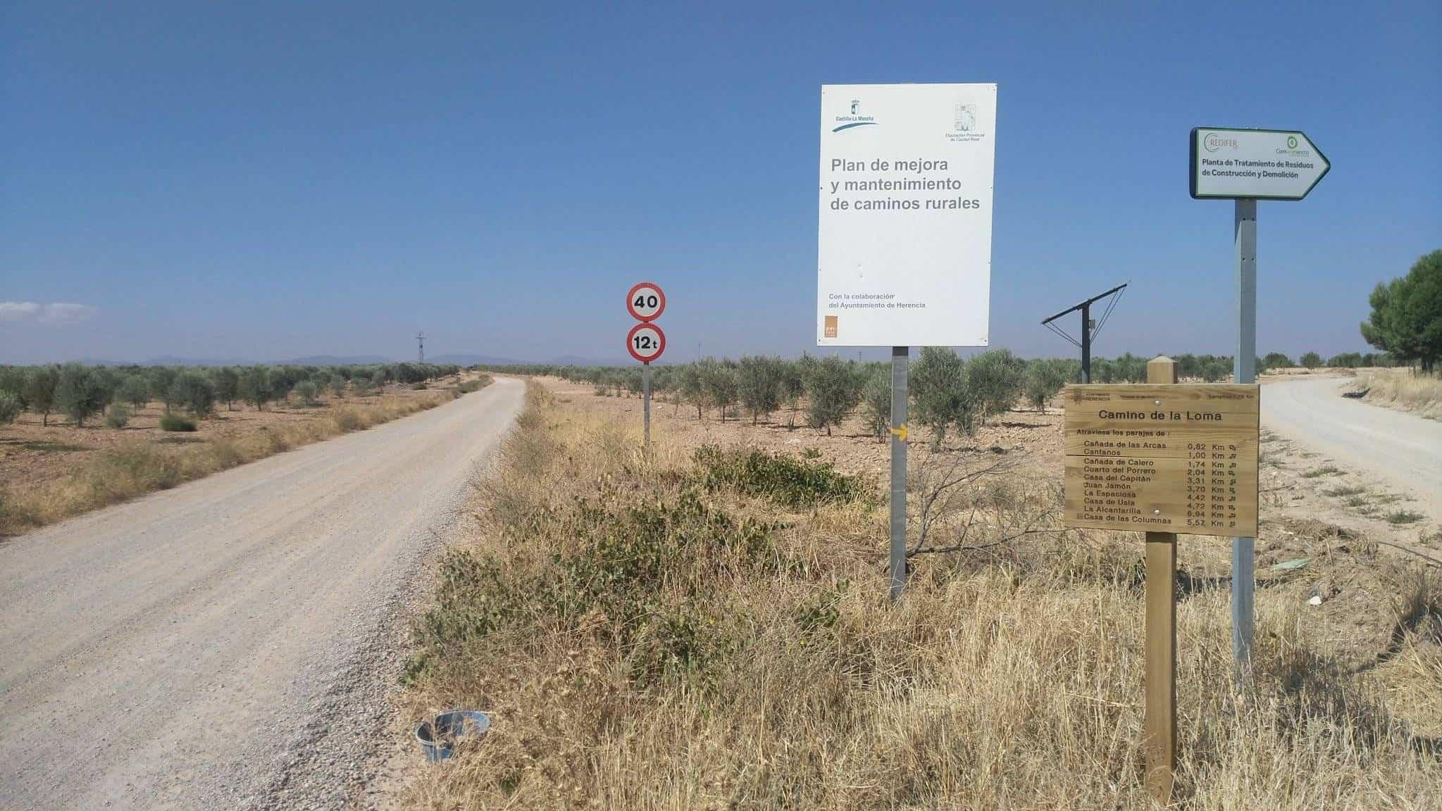 caminos de herencia ciudad real 3 - Próximos caminos rurales que serán arreglados en Herencia