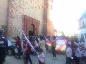 El Colegio Ntra. Sra. de las Mercedes sacó en procesión la imagen de la Virgen 12
