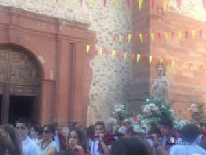 El Colegio Ntra. Sra. de las Mercedes sacó en procesión la imagen de la Virgen 15