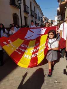 El Colegio Ntra. Sra. de las Mercedes sacó en procesión la imagen de la Virgen 5