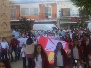 colegio ntra sra mercedes procesion imagen virgen 6