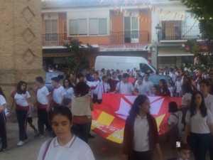 El Colegio Ntra. Sra. de las Mercedes sacó en procesión la imagen de la Virgen 10