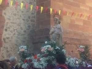 El Colegio Ntra. Sra. de las Mercedes sacó en procesión la imagen de la Virgen 3
