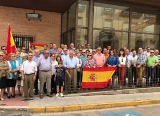 Concentración PP Herencia en defensa de Unidad Nacional de España