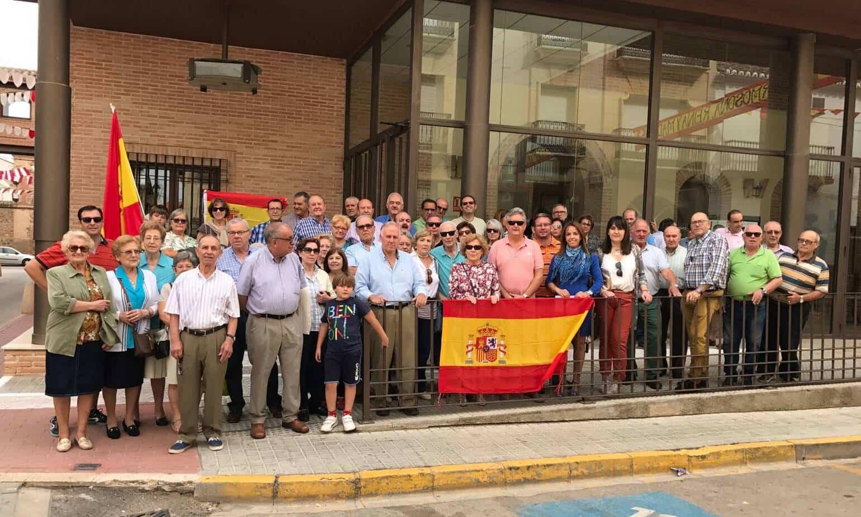concentracion herencia defensa unidad nacional - Partido Popular de Herencia se reúne en defensa de la unidad nacional